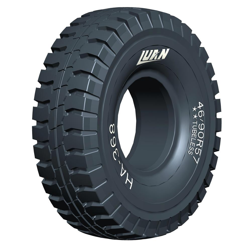 Earthmover tyres running on mine site; Superior quality OTR tyres