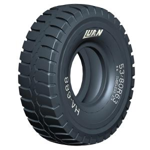MINING OTR TYRES for dump trucks; excellent traction of OTR TYRES