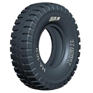 Giant tires for haul trucks; Large off the road tires