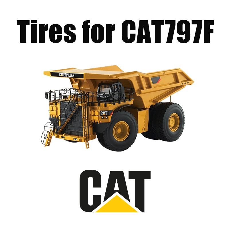 CAT 797F Earth Mover Tires