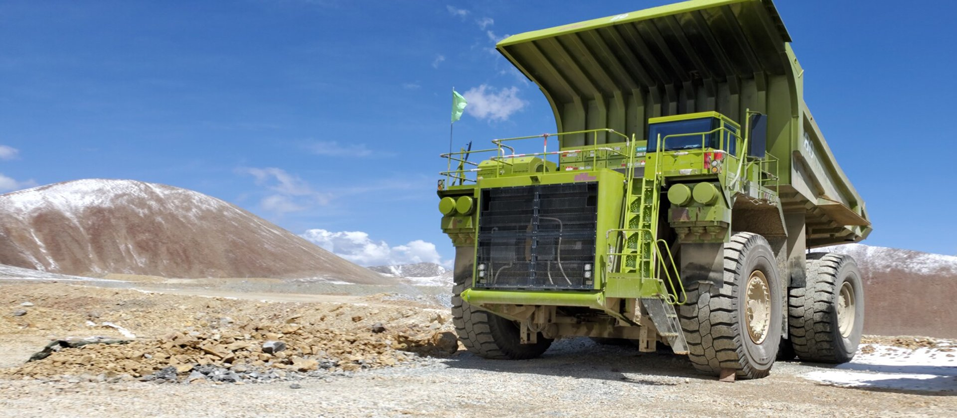 cheap tires for mining solution