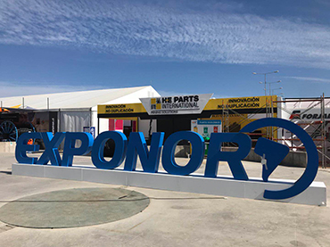 LUAN 33.00R51 OTR Tires Showed on EXPONOR CHILE 2019