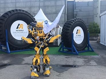 Luan 46/90R57,33.00R51,27.00R49 OTR Tires showed on 2019 Kuzbass Fair