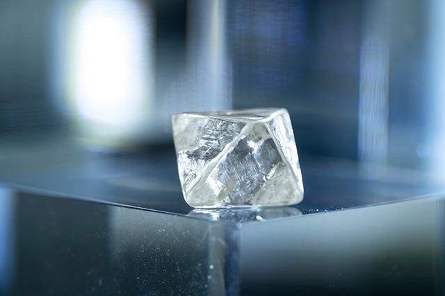 Rio Tinto reveals rare large white diamond from the Argyle diamond mine