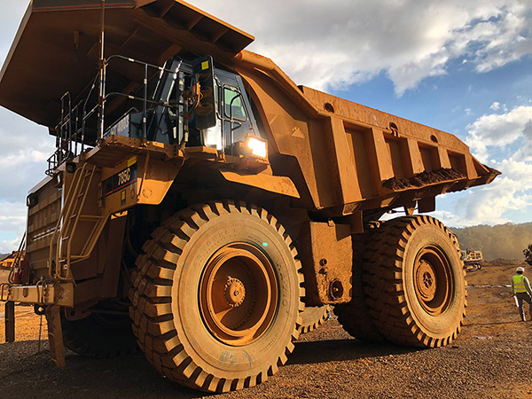 Luan 33.00R51 HA710 Tyres Running on Nickel Mine with Excellent Performance